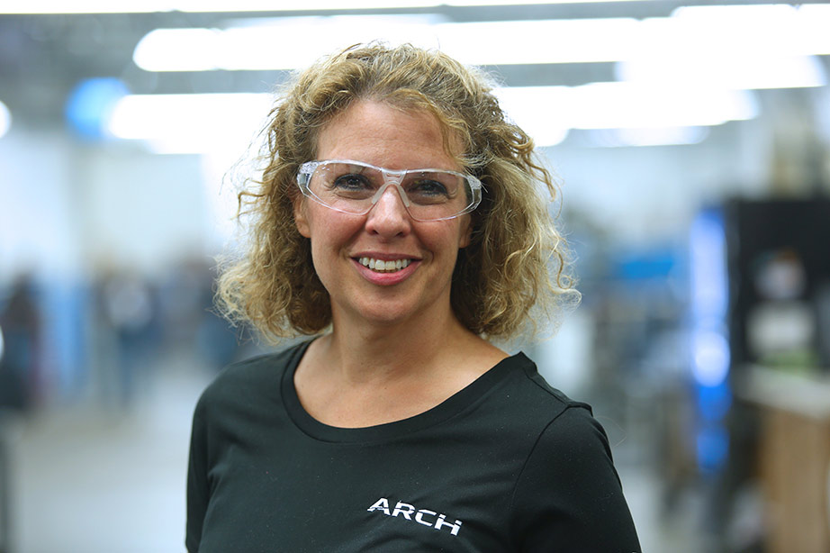 Michelle Connolly in ARCH facility