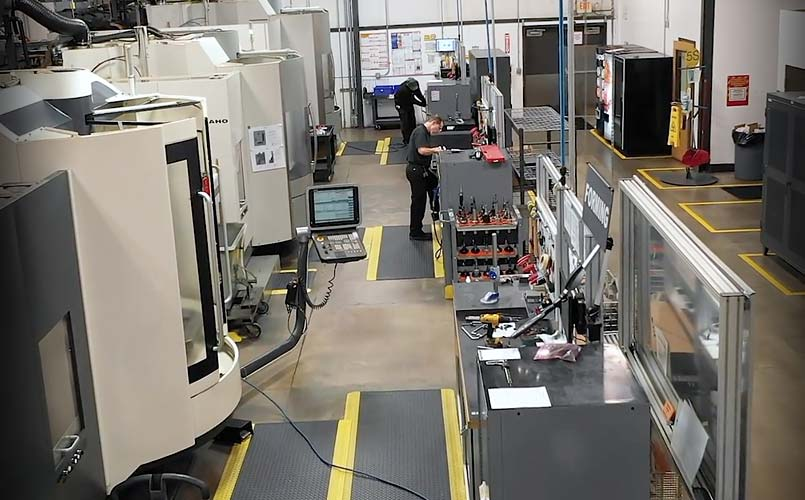 Machining Stations for CNC