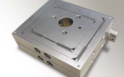 Precision machined component for semiconductor